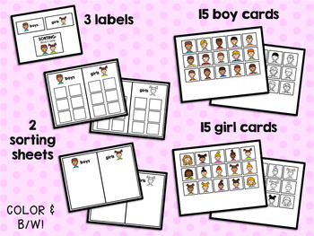 Sorting: Boys and Girls
