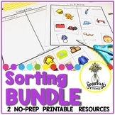 Sorting Speech AND Language BUNDLE : NO PREP Therapy