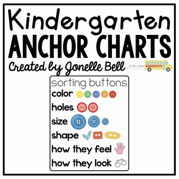 Sorting Buttons Anchor Chart