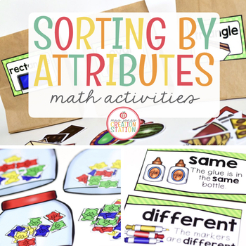 sorting by attributes math activity pack by mrs jones. Black Bedroom Furniture Sets. Home Design Ideas
