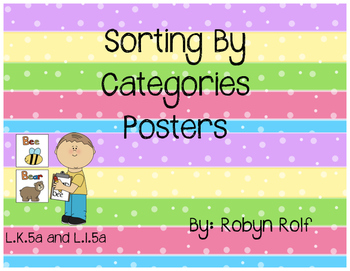 Sorting By Categories Posters