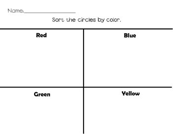 Sorting By Color