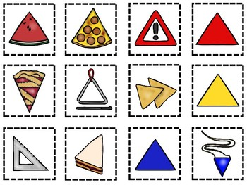 Sorting By Shapes-14 Shapes