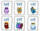 Sorting CVC Words ~ Winter Owls