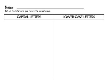 Sorting Capital and Lower-case Letters