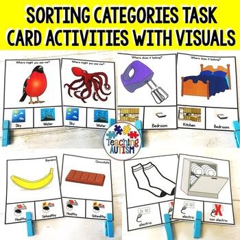 Sorting Categories Task Cards Growing Bundle