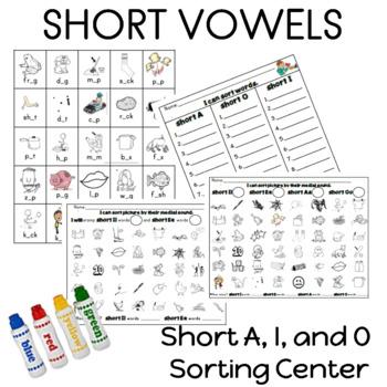 Short Aa, Ii, and Oo Sorting Center
