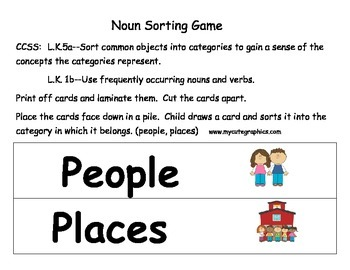 Sorting, Classifying, and Categorizing for Pre-K and Kindergarten