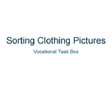 Sorting Clothing Vocational Task Activity