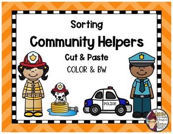 Sorting Community Helpers
