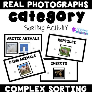 Sorting Complex Categories Photographs Mats- Animals Edition