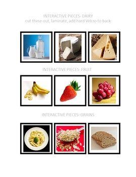 Sorting Complex Categories Photographs Mats- Food Edition