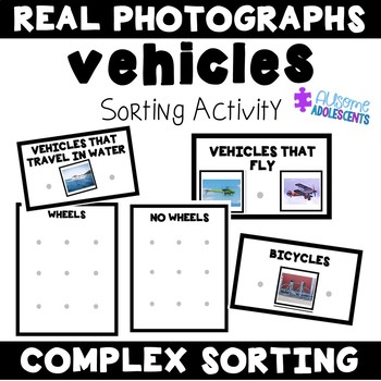 Sorting Complex Categories Photographs Mats- Vehicles Edition