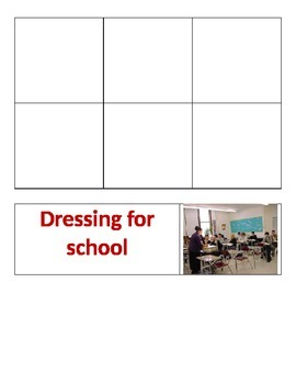 Sorting - Dressing for school vs. interview