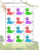 Sorting File Folder Game - Snakes