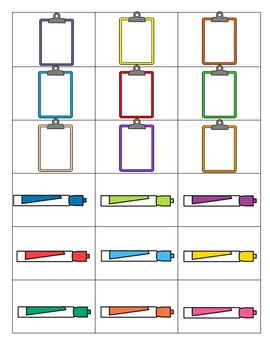 Sorting File Folder Pack