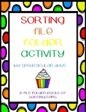 Sorting File Folder Pack