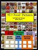 Healthy Food Sorting Real Pictures with Charts Life Skills Special Education