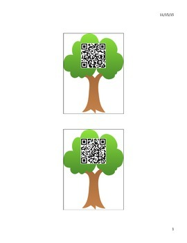Sorting Forest or Ocean Animal QR Game