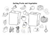 Sorting Fruits and Vegetables