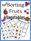 Sorting Fruits and Vegetables 30 plus Pictures Life Skills