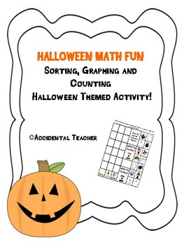 Sorting, Graphing and Counting Halloween Theme