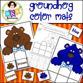 Sorting ● Groundhog Color Mats ● Colors ● Printable