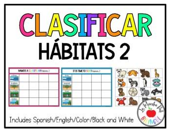 Sorting Habitats in Spanish Clasificar Hábitats #2