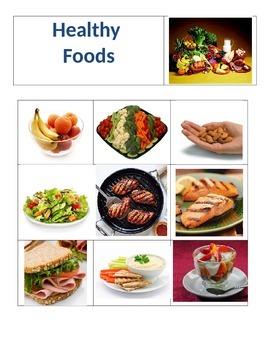 Sorting - Healthy vs. Unhealthy food choices