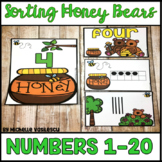 Number Sort 1-20 Math Center: Number Words, Ten Frames, and Tally Marks