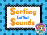 Sorting Initial Sounds Smart Board Notebook