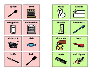 Sorting Items- Kitchen and Bathroom