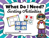 Sorting Items into Categories