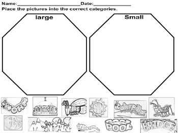 Sorting Large and Small