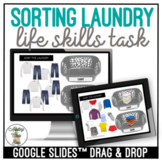 Sorting Laundry Google Slides Activity
