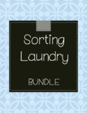 Sorting Laundry Life Skills Tasks - Bundle