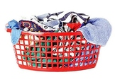 Sorting Laundry in a life skill center