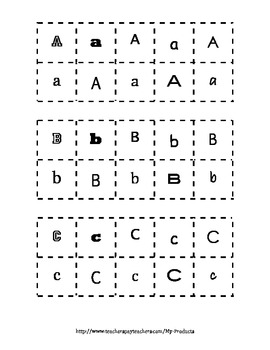 Sorting Letters - Identifying Letters of the Alphabet - Common Core Aligned