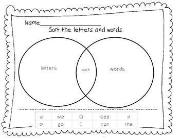 Sorting Letters, Numbers, Words, and Punctuation