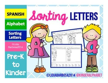SPANISH Sorting Letters