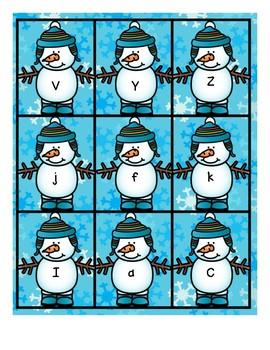 Letter vs. Word-Snowman