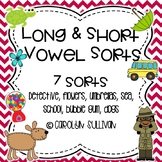 Sorting- Long and Short Vowels