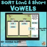 Sorting Long and Short Vowels | Google Slides