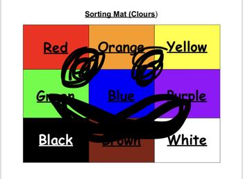 Sorting Mat (Colour)
