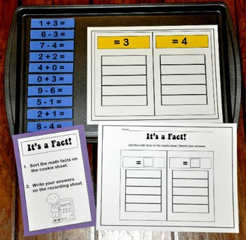 Sorting Math Facts Bundle