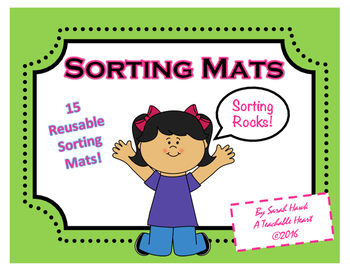 image relating to Printable Mats called Sorting Mats- 15 Printable Sorting Mats