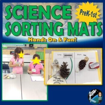 Sorting Mats {Aligns with K-2 NGSS Science Practice: Analyze & Interpret Data}