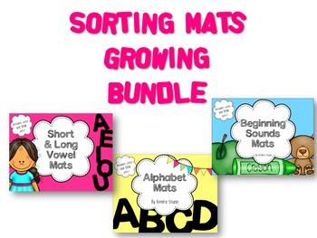 Sorting Mats {Growing Bundle}