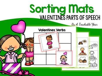 Sorting Mats- Valentine's Day