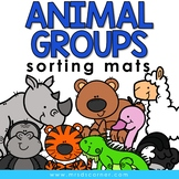 Sorting Mats for Students with Special Needs { ANIMAL GROU